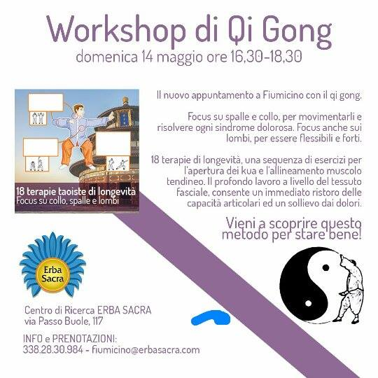workshop di Qi Gong