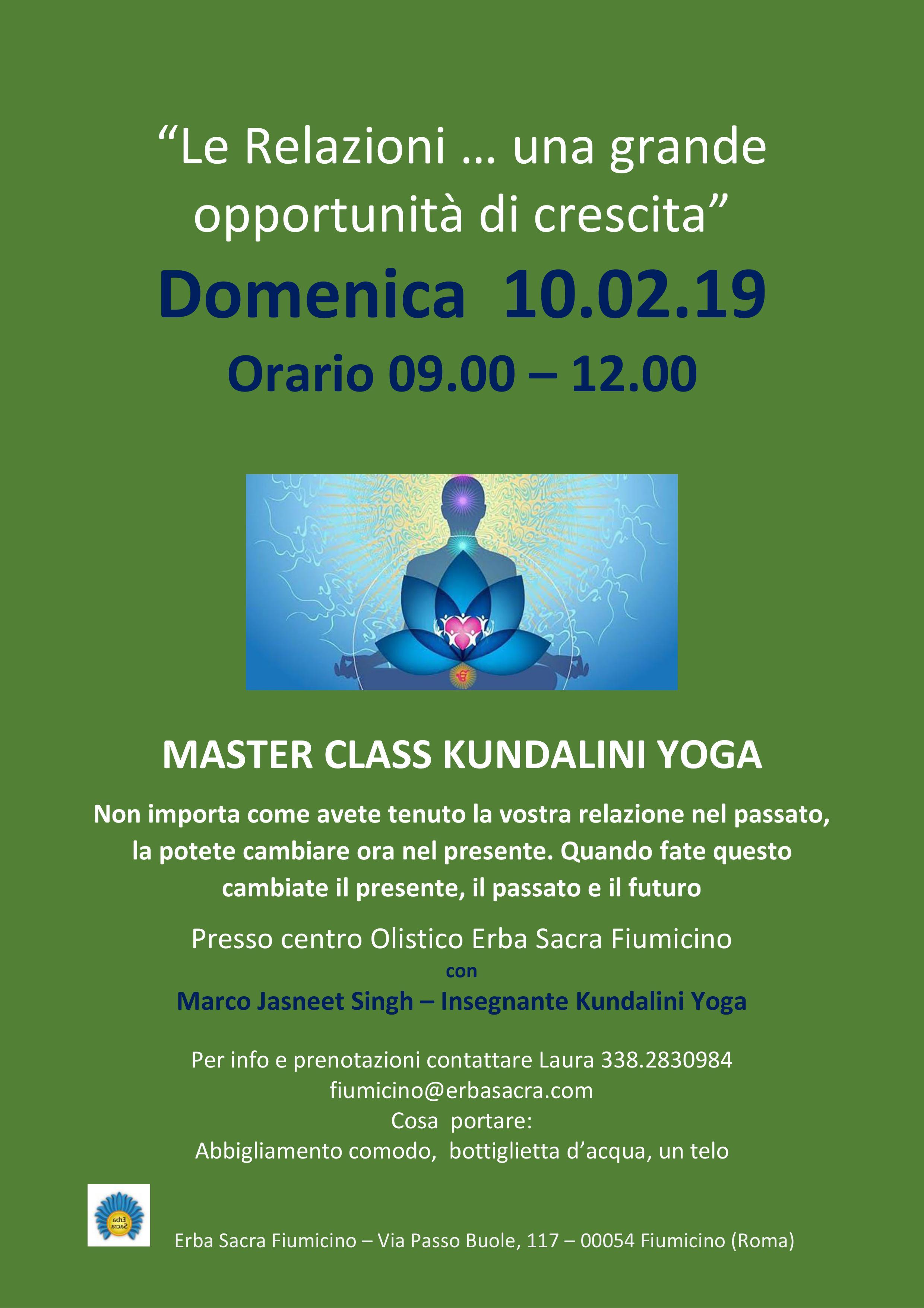 Servizio di incontri di Kundalini Yoga
